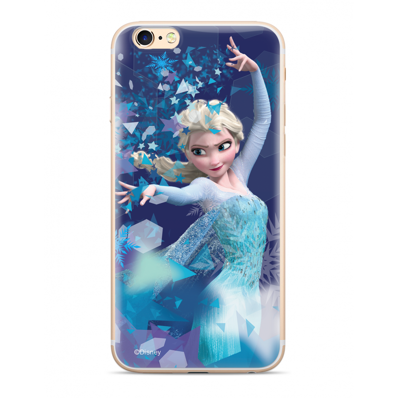 Zadni kryt Disney Elsa 011 pro Samsung Galaxy J6+, blue