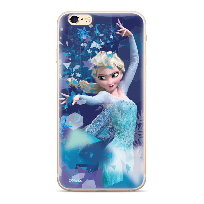Zadni kryt Disney Elsa 011 pro Apple iPhone XS, blue