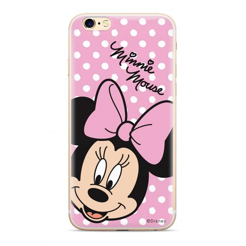 Zadni kryt Disney Minnie 008 pro Samsung Galaxy J6+, pink