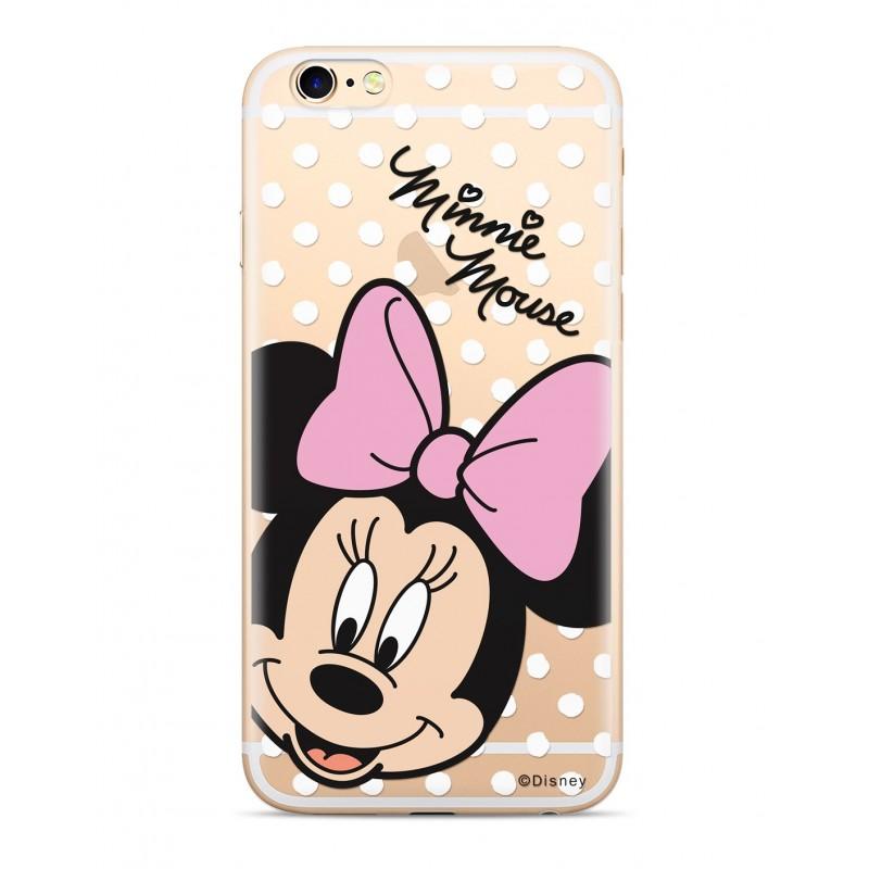 Zadni kryt Disney Minnie 008 pro Apple iPhone XS, transparent