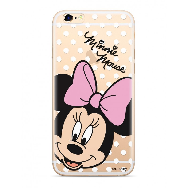 Zadni kryt Disney Minnie 008 pro Samsung Galaxy A8 2016, transparent