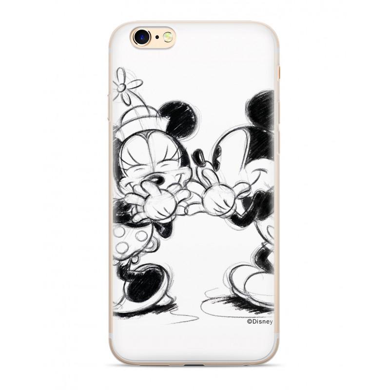 Zadni kryt Disney Mickey & Minnie 010 pro Huawei Y6 2018, white