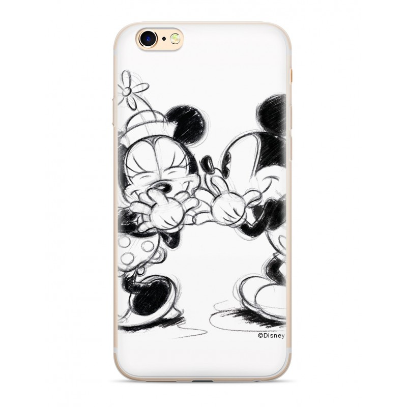 Zadni kryt Disney Mickey & Minnie 010 pro Samsung Galaxy J6+, white