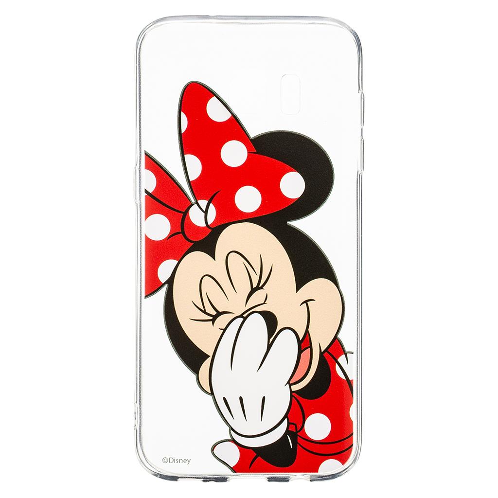 Zadni kryt Disney Minnie 006 pro Samsung Galaxy S7 Edge, transparent