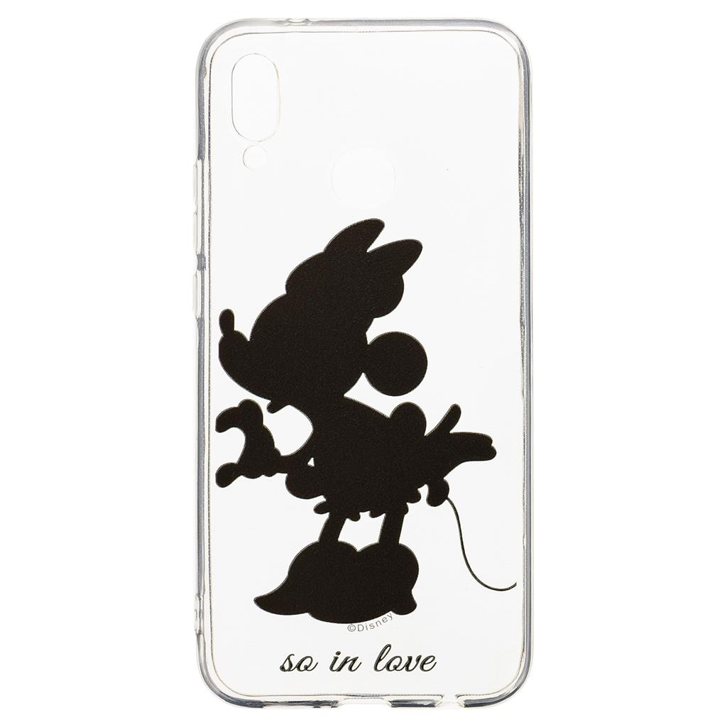 Zadni kryt Disney Minnie 002 pro Huawei P20 Lite, transparent
