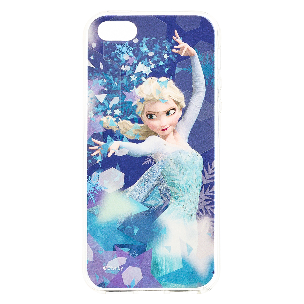 Zadni kryt Disney Elsa 011 pro Apple iPhone 5/5S/SE, blue