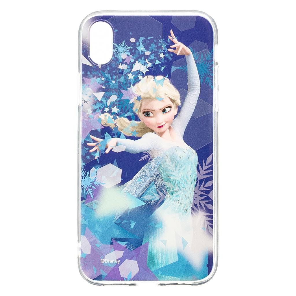 Zadni kryt Disney Elsa 011 pro Apple iPhone XR, blue