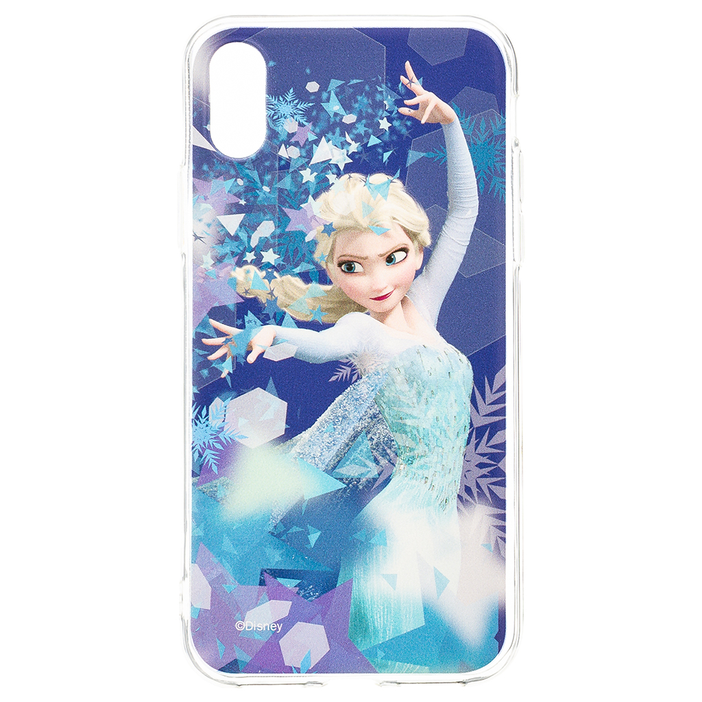 Zadni kryt Disney Elsa 011 pro Apple iPhone X, blue