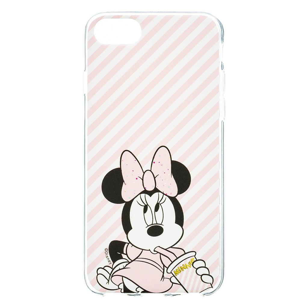 Zadni kryt Disney Minnie 017 pro Apple iPhone 6/7/8, pink glitter