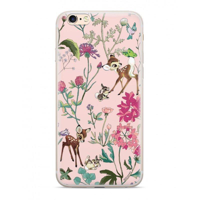 Zadni kryt Disney Bambi 001 pro Huawei Y6 Prime 2018, pink