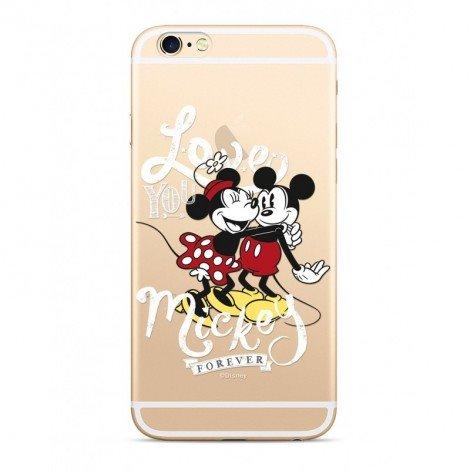 Zadni kryt Disney Mickey & Minnie 001 pro Xiaomi Redmi 6/6A, transparent