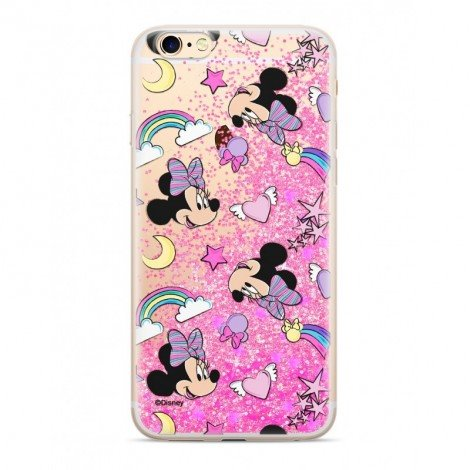 Zadni kryt Disney Minnie 031 pro Apple iPhone 7/8, pink glitter--