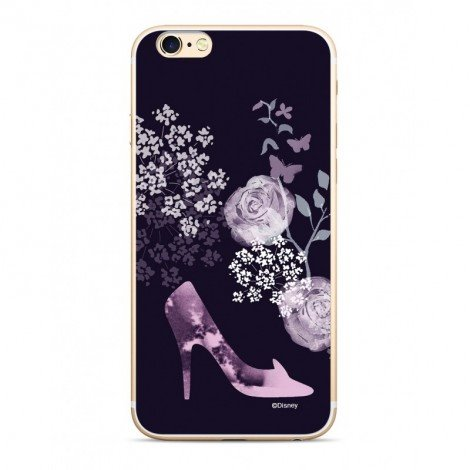 Zadni kryt Disney Princess 002 pro Apple iPhone 5/5S/SE, navy blue