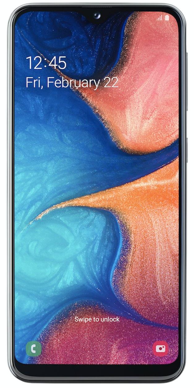 Samsung Galaxy A20e černá