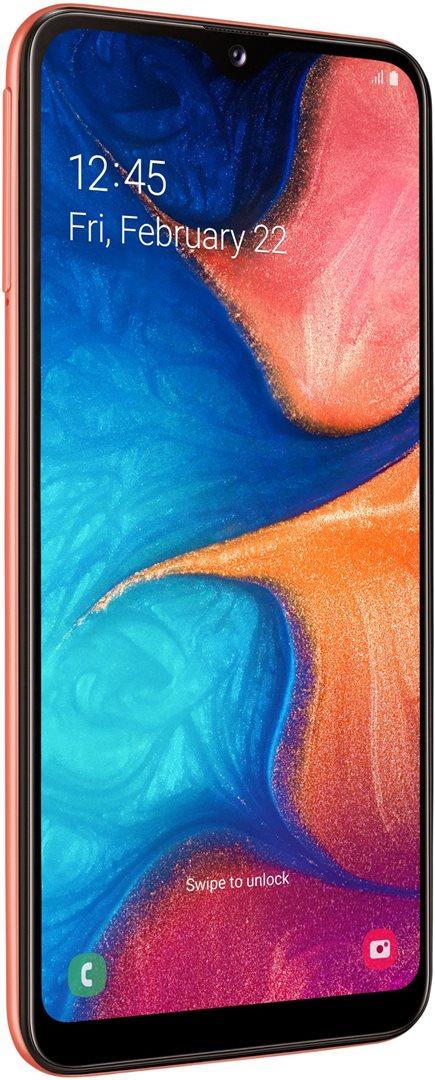 Samsung Galaxy A20e oranžová