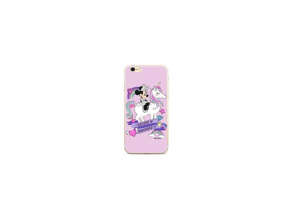 Zadni kryt Disney Minnie 035 pro Huawei Y6 Prime 2018, pink