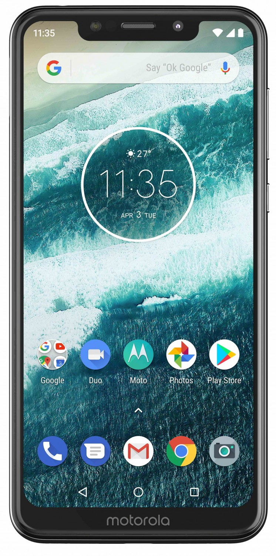 Motorola One Lite bílá