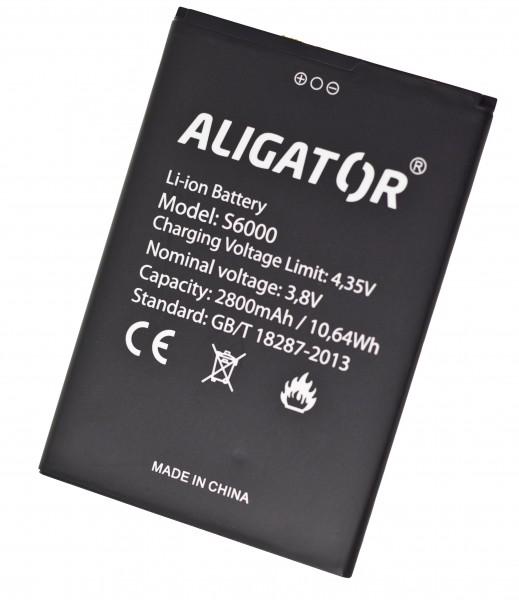 Baterie ALIGATOR S6000 Duo, Li-Ion 2800mAh, originální