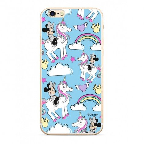 Zadni kryt Disney Minnie 037 pro Apple iPhone 5/5S/SE, blue