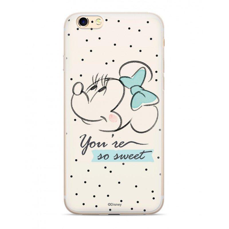 Zadni kryt Disney Minnie 042 pro Apple iPhone XR, white