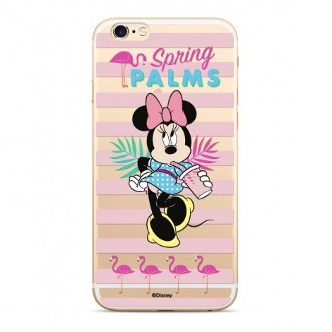 Zadni kryt Disney Minnie 028 pro Apple iPhone XS, transparent