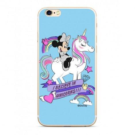 Zadni kryt Disney Minnie 035 pro Apple iPhone 5/5S/SE, blue