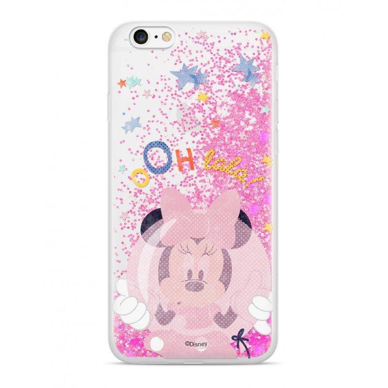 Zadni kryt Disney Minnie 046 pro Apple iPhone XR, pink glitter