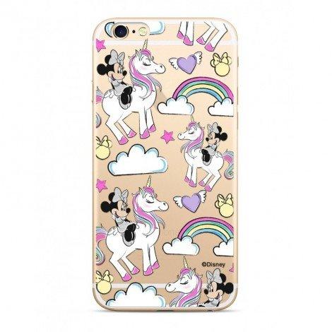 Zadni kryt Disney Minnie 037 pro Apple iPhone 5/5S/SE, transparent
