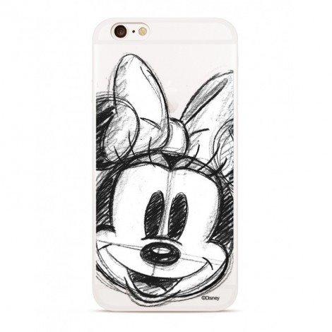 Zadni kryt Disney Minnie 012 pro Xiaomi Redmi 6/6A, transparent