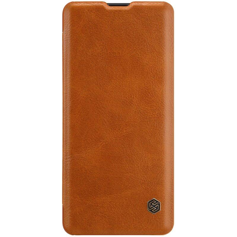 Flipové pouzdro Nillkin Qin Book pro Huawei P30 Pro, brown