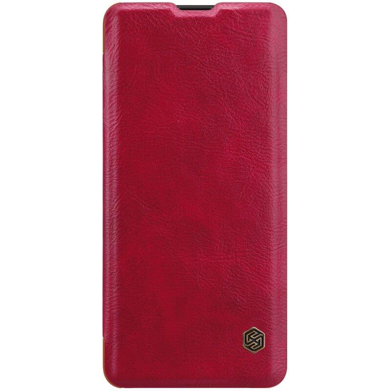 Flipové pouzdro Nillkin Qin Book pro Huawei P30 Pro, red