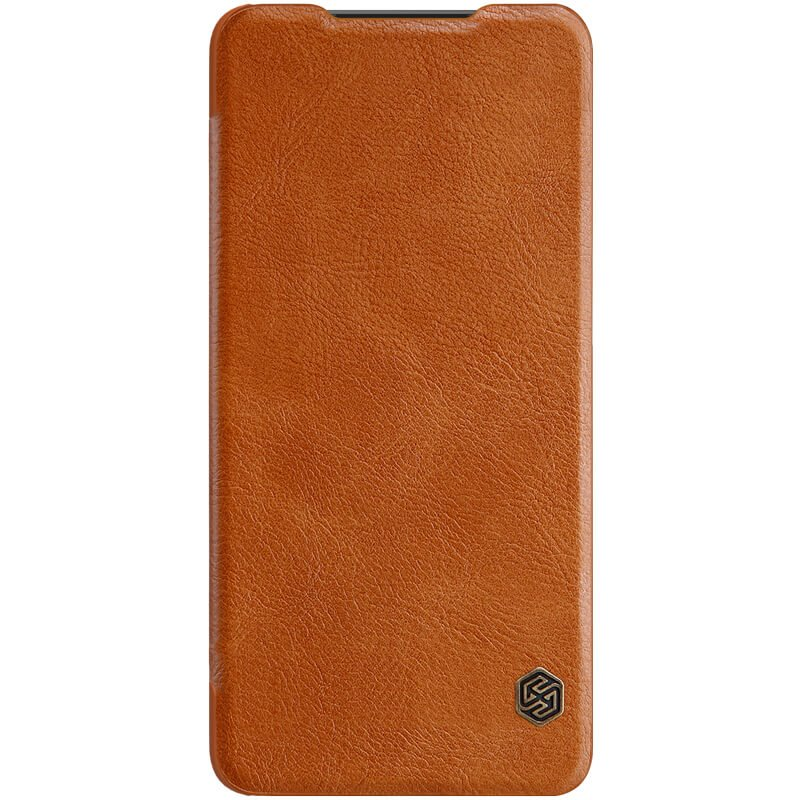 Flipové pouzdro Nillkin Qin Book pro Sony Xperia 10 Plus, brown