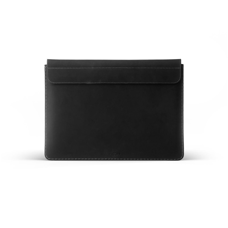 "Kožené pouzdro FIXED Oxford pro Apple Macbook 12"", černé"
