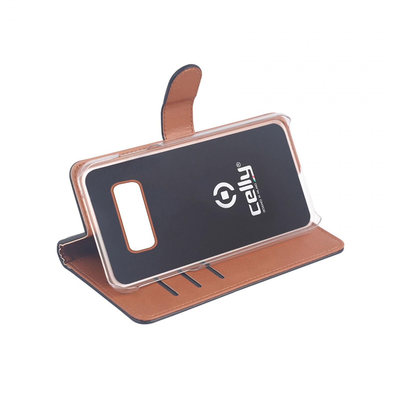 CELLY Wally flipové pouzdro pro Samsung Galaxy S10e, černé