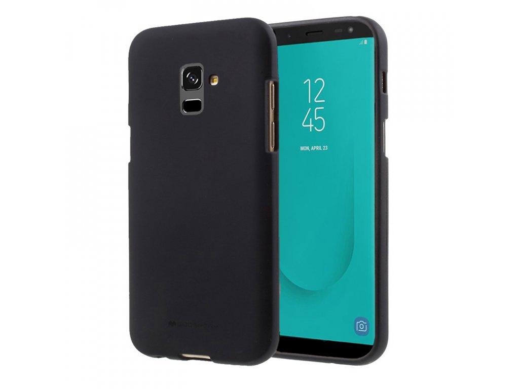 Pouzdro Mercury Soft feeling pro Samsung Galaxy J6 2018, black