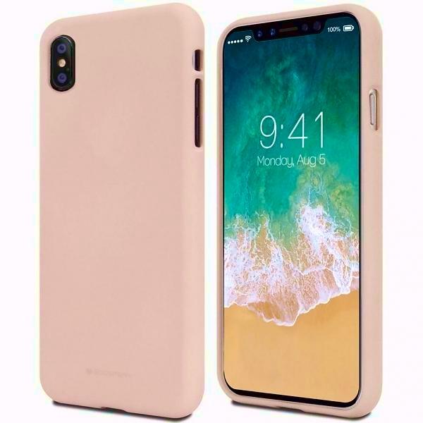 Pouzdro Mercury Soft feeling pro Huawei Y7 Pro 2019, pink