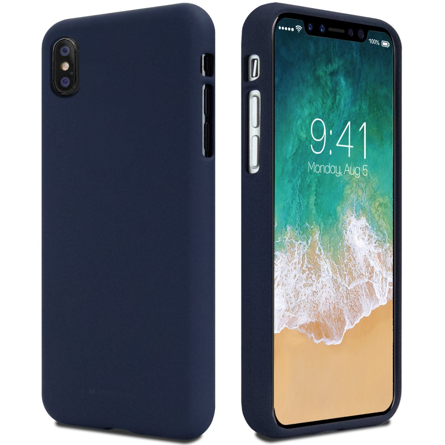 Pouzdro Mercury Soft feeling pro Samsung Galaxy S10e, midnight blue