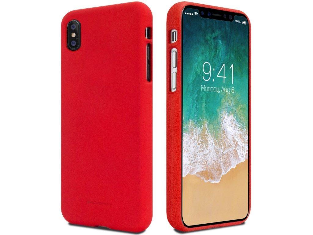 Pouzdro Mercury Soft feeling pro Samsung Galaxy S10+, red