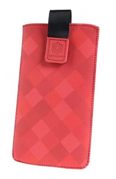 Univerzální pouzdro RedPoint Velvet Square velikost 4XL, Red