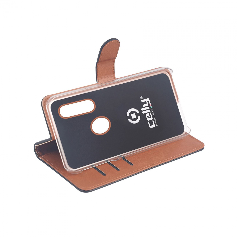 CELLY Wally flipové pouzdro pro Huawei P30 Lite, černé