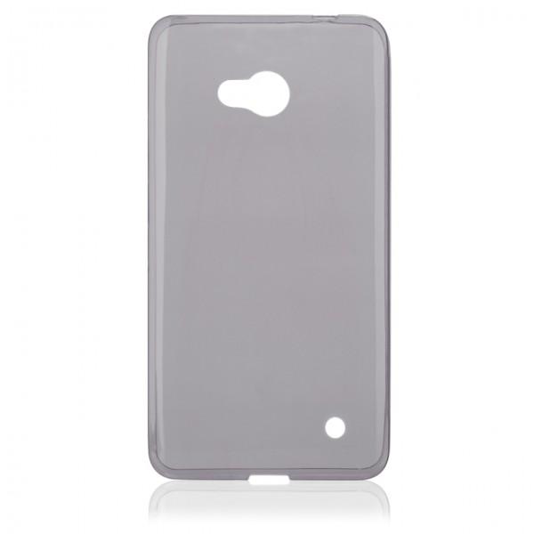 Silikonové pouzdro FITTY pro Microsoft Lumia 640, Grey