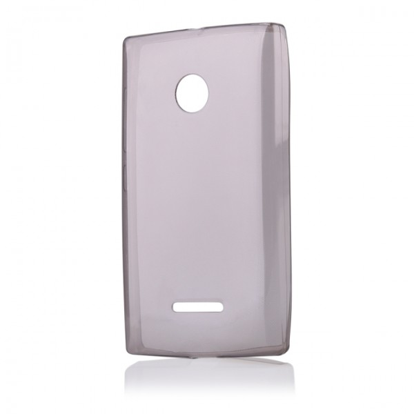 Silikonové pouzdro FITTY pro Microsoft Lumia 435, Grey