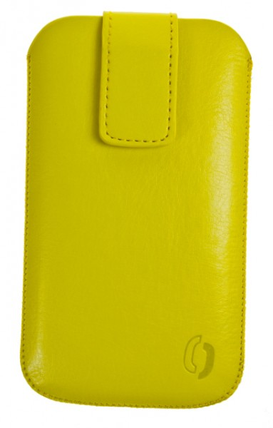 Pouzdro VIP Collection pro Apple iPhone 4, YELLOW