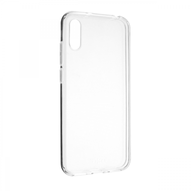 Ultratenké TPU gelové pouzdro FIXED Skin pro Huawei Y6 2019, transparentní