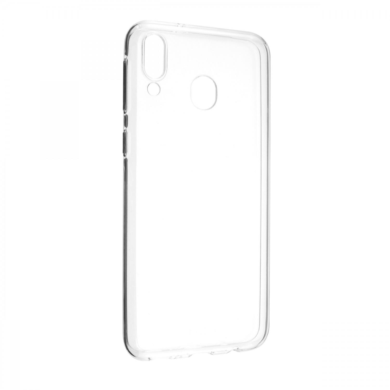 Ultratenké TPU gelové pouzdro FIXED Skin pro Samsung Galaxy M20, transparentní