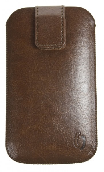 Pouzdro VIP Collection pro Apple iPhone 4, BROWN