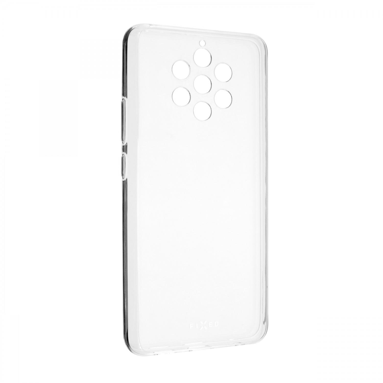 Ultratenké silikonové pouzdro FIXED Skin pro Nokia 8.1, transparentní