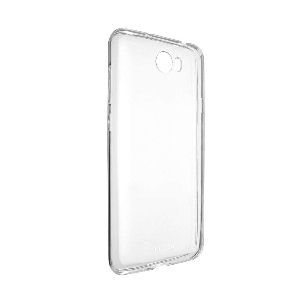 Ultratenké TPU gelové pouzdro FIXED Skin pro Huawei Y6 II Compact, transparentní