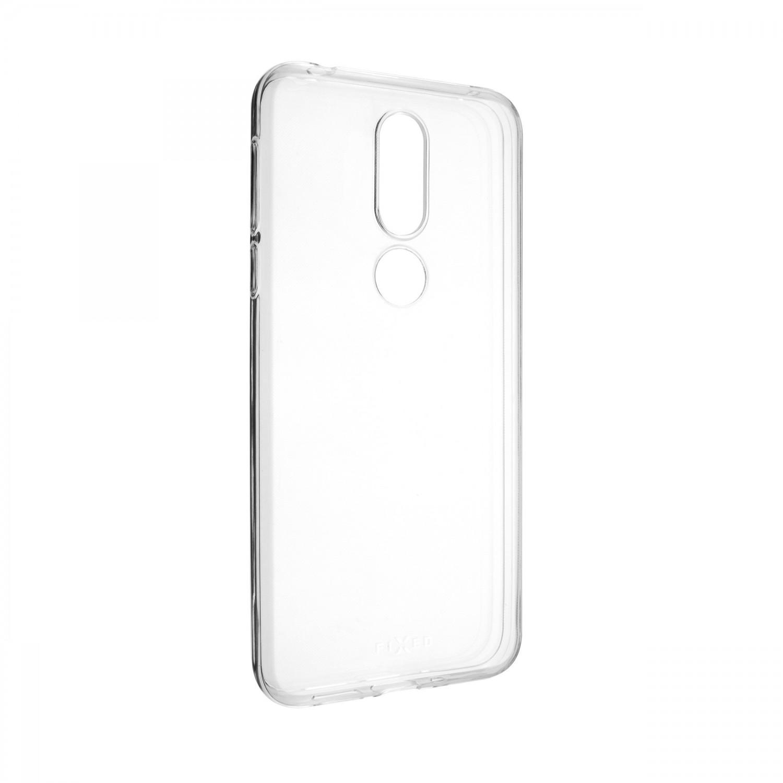 Ultratenké silikonové pouzdro FIXED Skin pro Nokia 7.1, transparentní