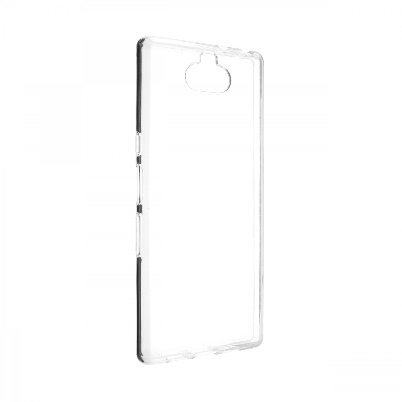 Ultratenké silikonové pouzdro FIXED Skin pro Sony Xperia 10, transparentní
